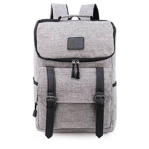 Ari's Rucksack laptop Backpacks  grey