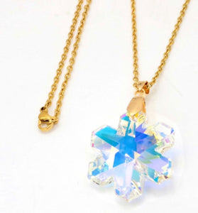 Stainless steel jewelry crystal Pendant necklace