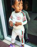 Kids long sleeve track suit. Guci