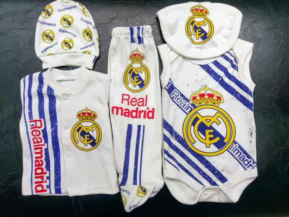 Real Madrid 7 Piece Box sets