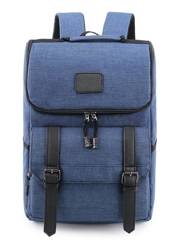 Ari's Rucksack laptop Backpacks  Blue
