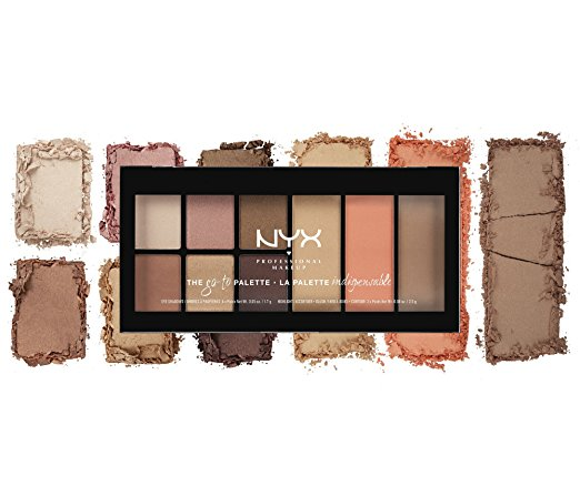 NYX PROFESSIONAL MAKEUP Go-to Palette, Wanderlust
