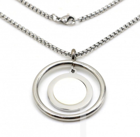 Stainless steel jewelry Necklace Sweater chain