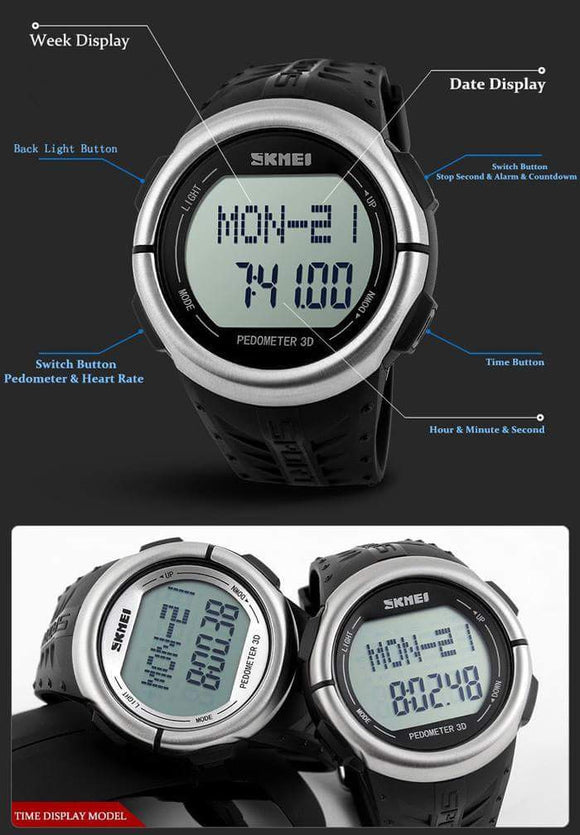 HEART RATE TREKING WATCH