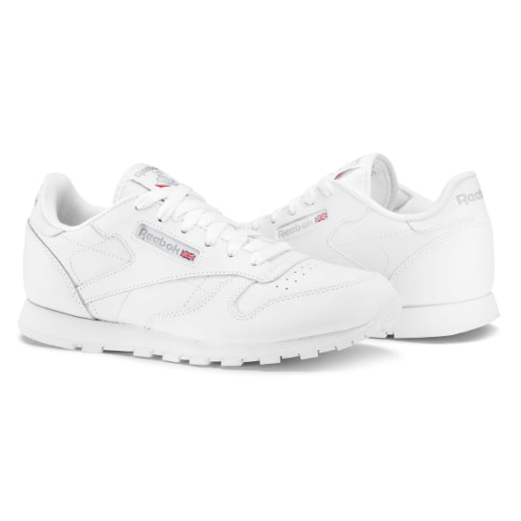 WHITE ADULT REEBOK CLASSIC