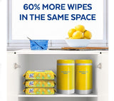 Lysol Disinfecting wipes Lemon &Lime blossom scent