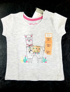 Next UK girls grey T-Shirt