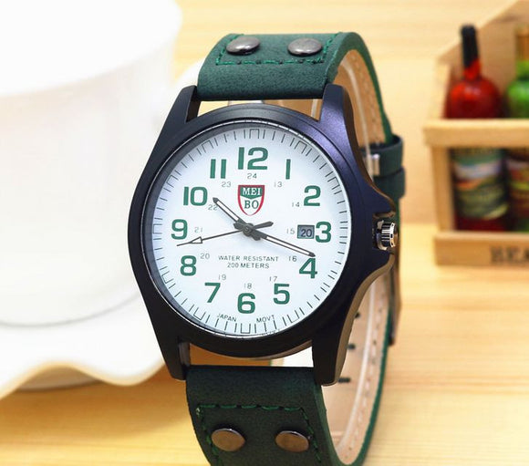 Military Fashion Watch