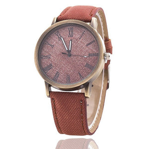 Fashion Unisex jeans watch