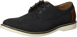 Steve Madden Men's M-Drum Oxford, Black suede