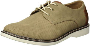 Steve Madden Men's M-Drum Oxford, Tan Nubuck