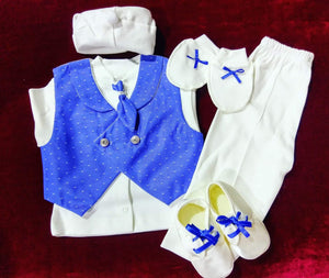 ROYAL BLUE, BABY CHRISTENING SUITS,