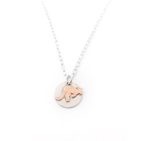 Small Kangaroo necklace