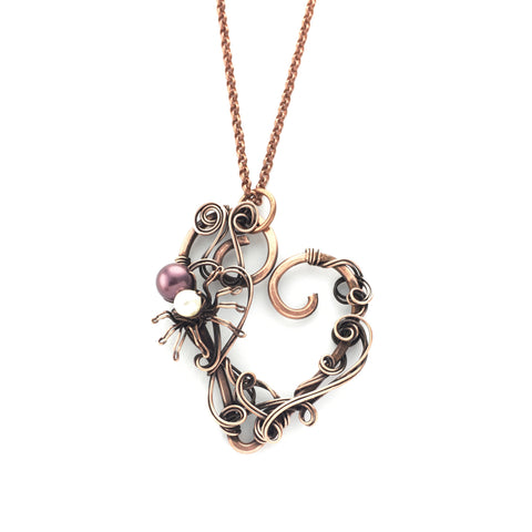 Arwen Romantic Spider Necklace