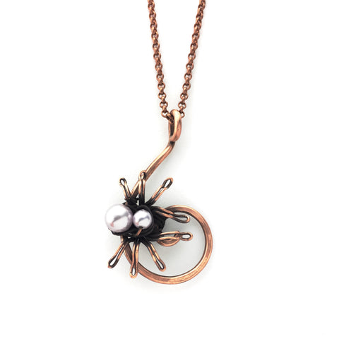 Maeve Spider Necklace