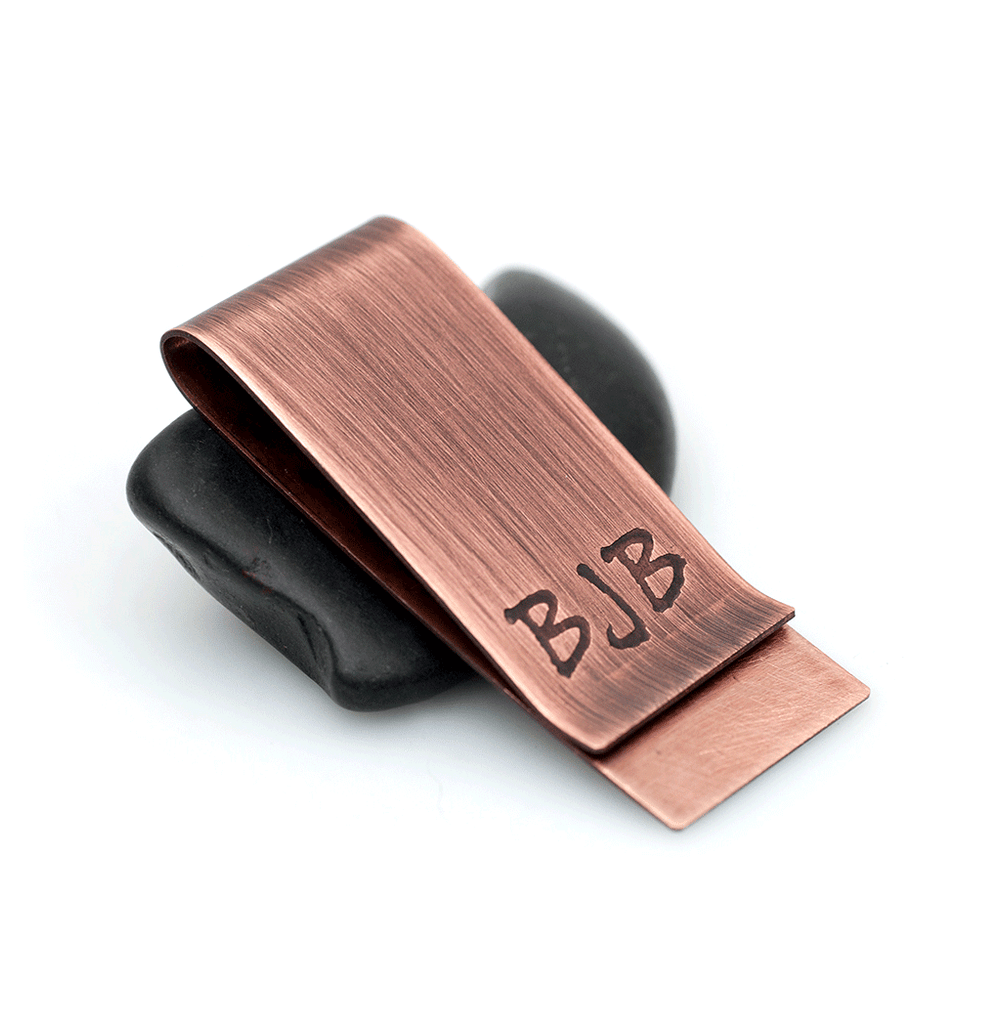 monogrammed money clip gifts for men