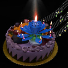 Musical Lotus Birthday Candle