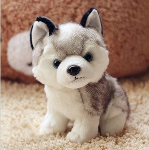 "Siberian Husky 8.6"" Plush Toy - BarkForce"