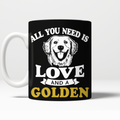 All You Need Is Love And A Golden Mug - BarkForce