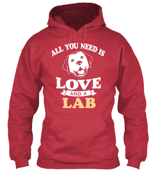 All You Need Is Love And A Lab - BarkForce