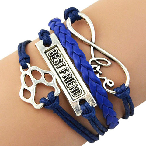 Best Friend Infinity Love Bracelet - BarkForce