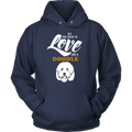 All You Need Is Love And A Doodle Hoodie