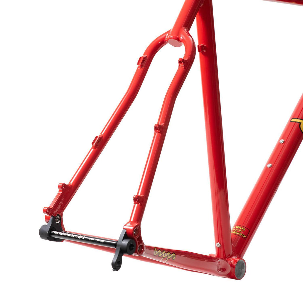 Doppo Racer Limited Edition Frame & Fork Set & Chris King Headset ( Free Shipping )