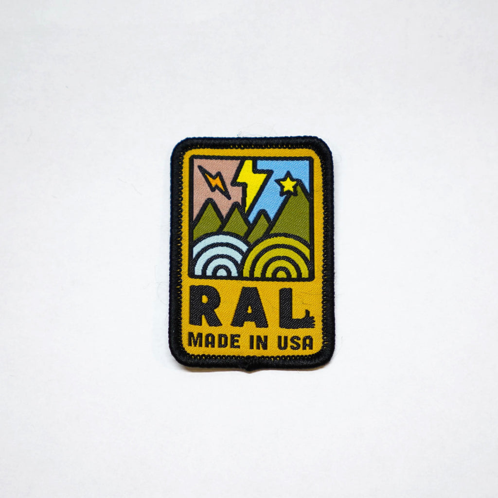 RAL Woven Patch