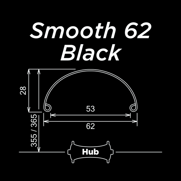 Smooth 62 Black