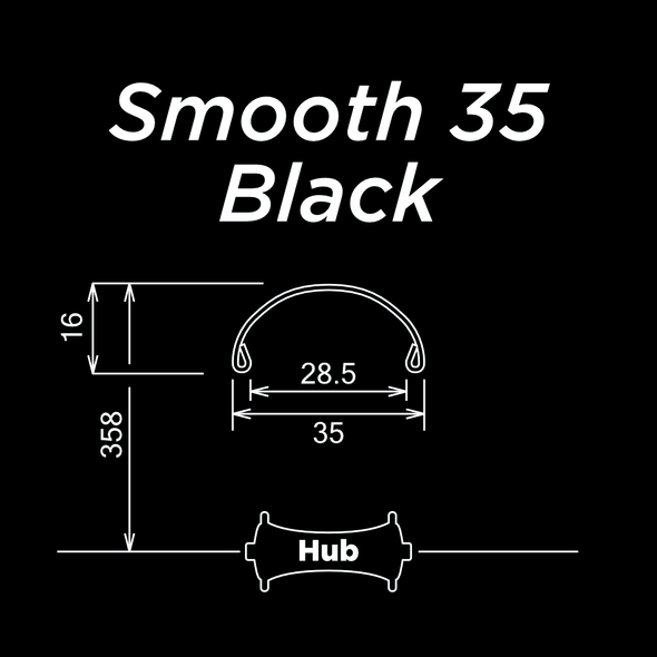 Smooth 35 Black