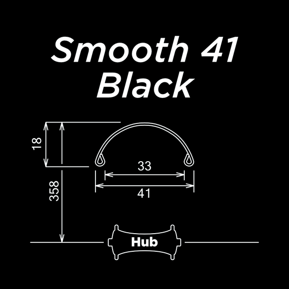 Smooth 41 Black
