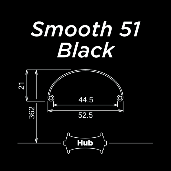 Smooth 51 Black