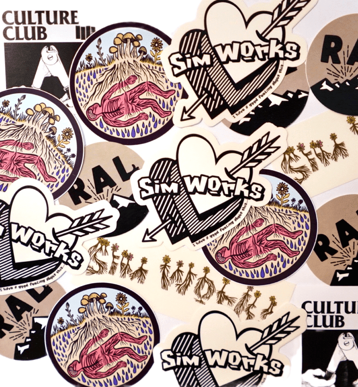 SimWorks Sticker Pack!!!