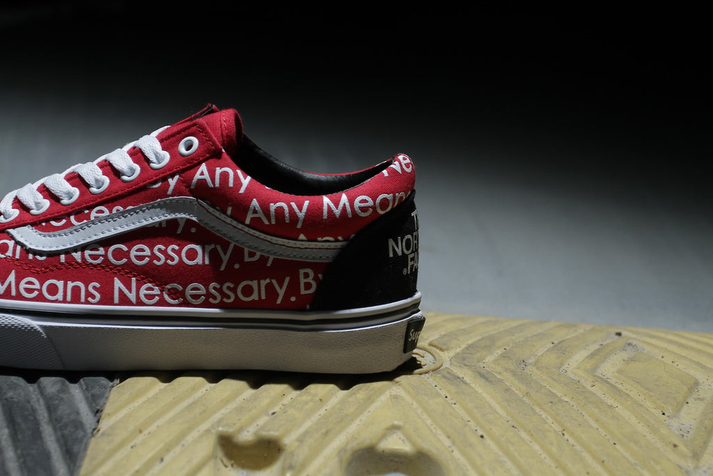 f97b69ab79cb Vans x Supreme x The North Face.    please choose the one size down (Exp   usually  40euro