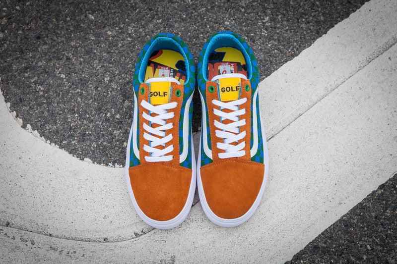 87e5dc7f73a1 The golf wang old skool pro s is suede skate shoe from vans  syndicate