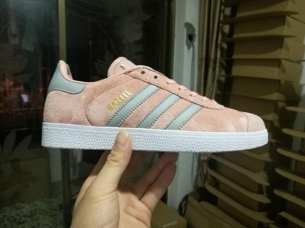 adidas gazelle blue and white stripe shoes with blouse adidas nmd xr1 womens pink