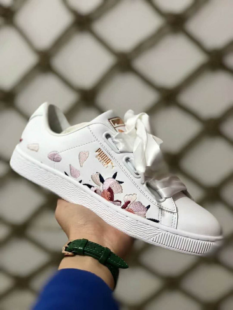 online store b80f1 cdadf puma basket heart floral, PUMA® Women's&Men's New Athletic Gear