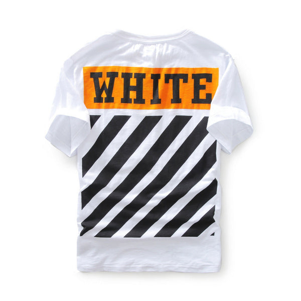 Off-White Orange Box Flocked T-Shirt