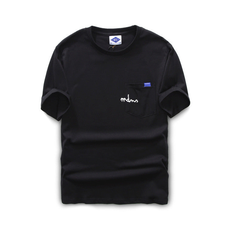 MDNS Simple Label Pocket T-shirt