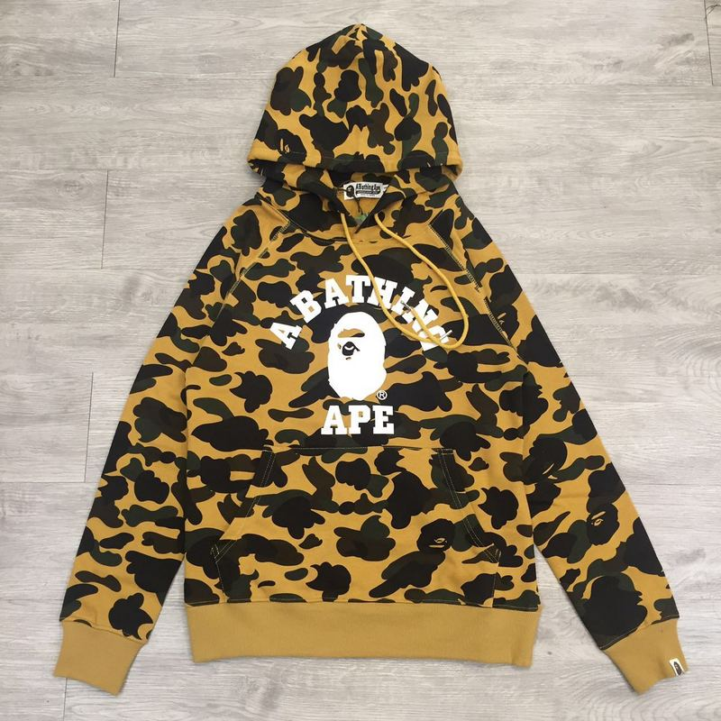 A Bathing Ape 1st Camo College Hoodie