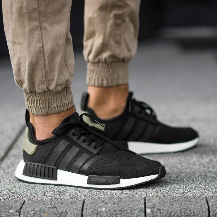 adidas nmd r1 black grey wool heel Crepjunkie All Things Creps!