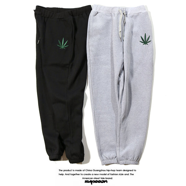 "Supreme Small Logo "" LEAF "" Sweat Pants"