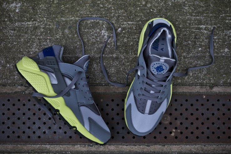 Nike Air Huarache Grey Volt