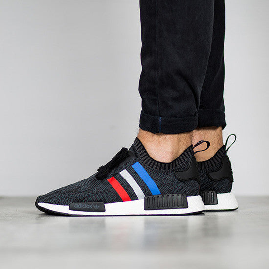 Cheap Adidas NMD R1 Runner Black White Monochrome Boost Size S79165