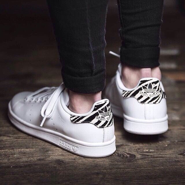adidas stan smith zebra nere