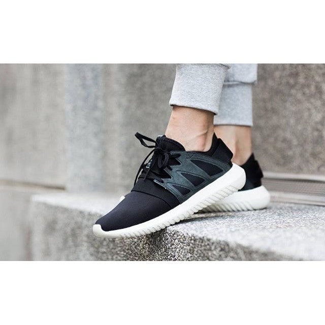 Adidas Tubular Invader Strap (Core Black \\ u0026 Utility Black) End