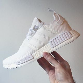 Adidas NMD R1 All White