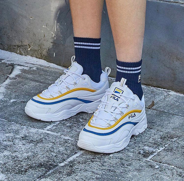 FILA X Folder Ray 'Yellow/Blue'