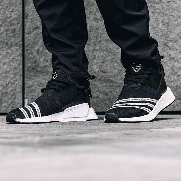Adidas White Mountaineering NMD R2 Primeknit 'Core Black'(Tmall ORIGINAL)