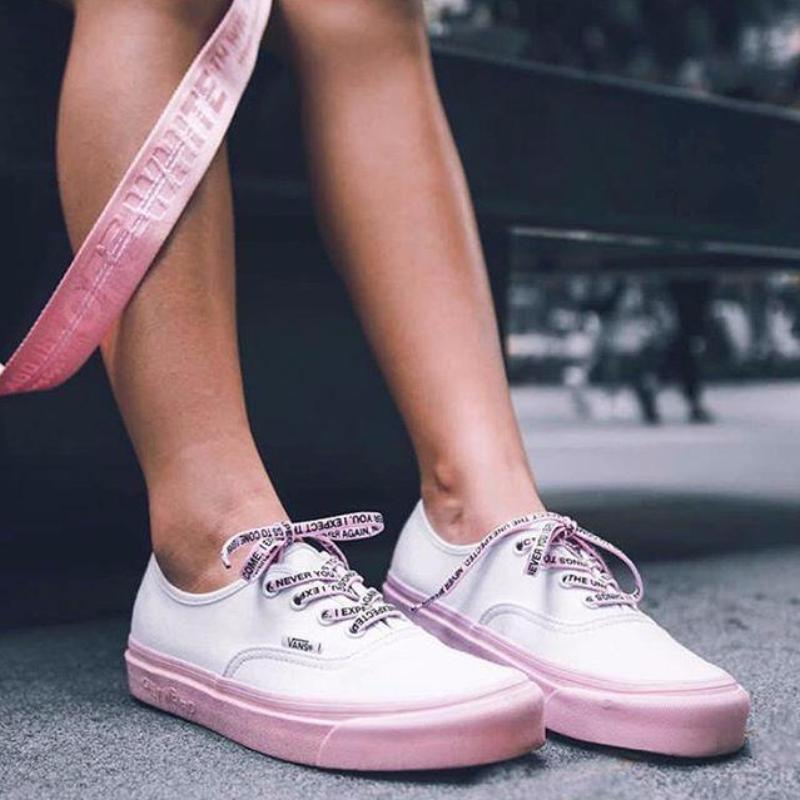 Anti Social Social Club x DSM x Vans Authentic LX 'White/Pink' (Tmall ORIGINAL)